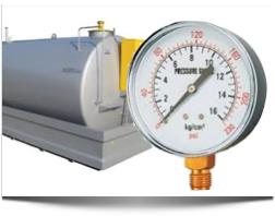 Prova di tenuta Serbatoi Cisterne di gasolio